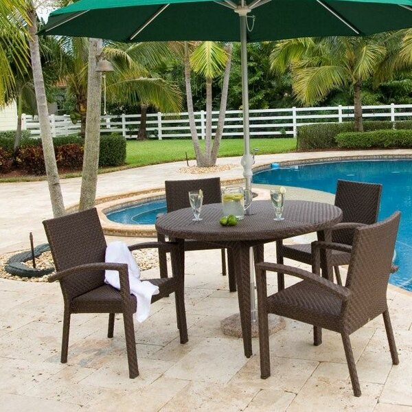 Soho 5 Piece Dining Set by Hospitality Rattan