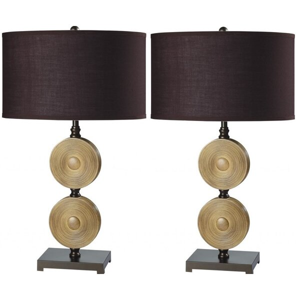 Macclenny Chime 29 Table Lamp (Set of 2) by Bloomsbury Market