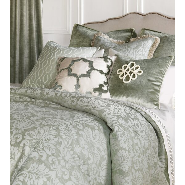 Lourde Celadon Reversible Single Duvet Cover