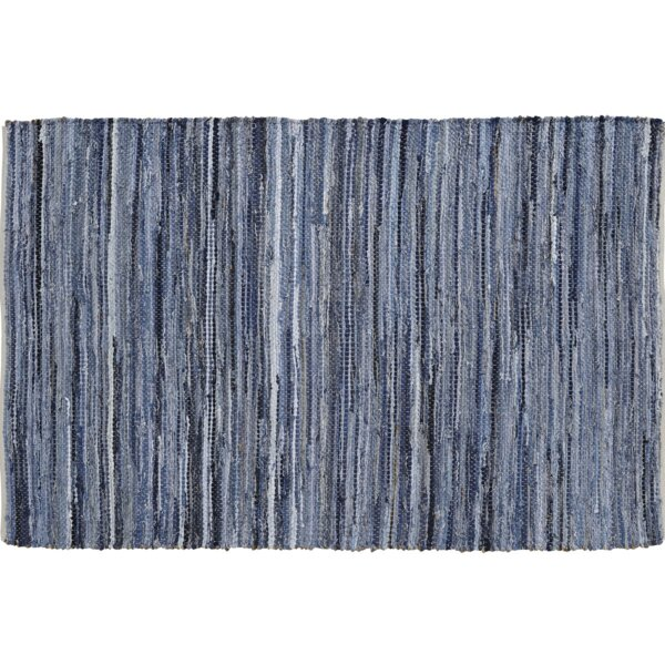 Jansen Denim & Hemp Area Rug by Gracie Oaks