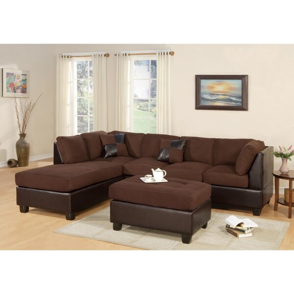Duechle Right Hand Facing Sectional With Ottoman By Red Barrel Studio