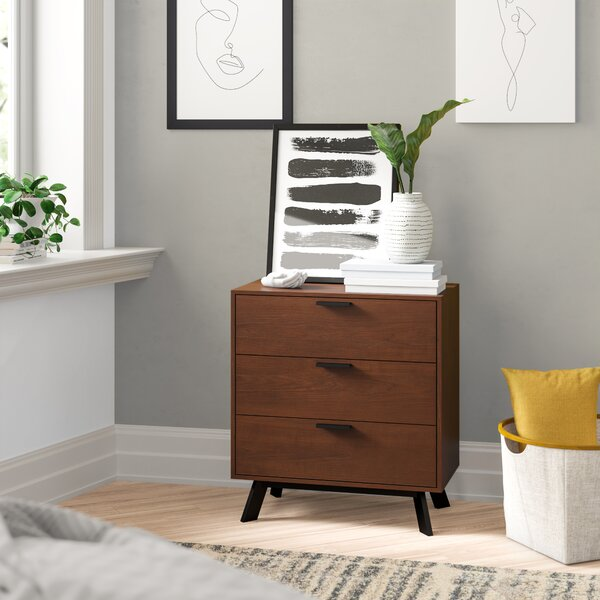 Sheyla 3 Drawer Chest by Zipcode Design