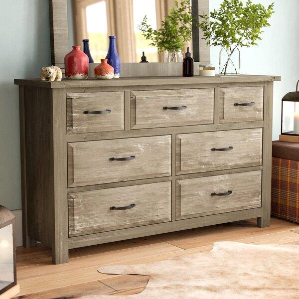 Nixa 7 Drawer Dresser by Foundry Select
