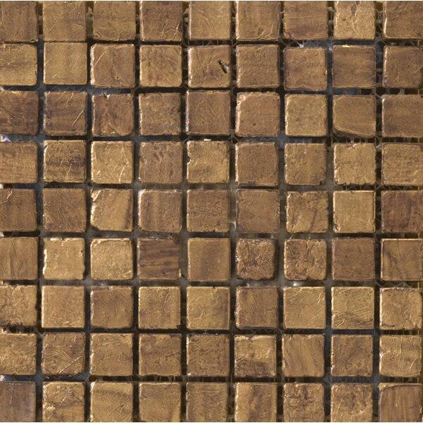 Treasure 0.6 x 0.6 Travertine Mosaic Tile in Santa Cecilia by Emser Tile