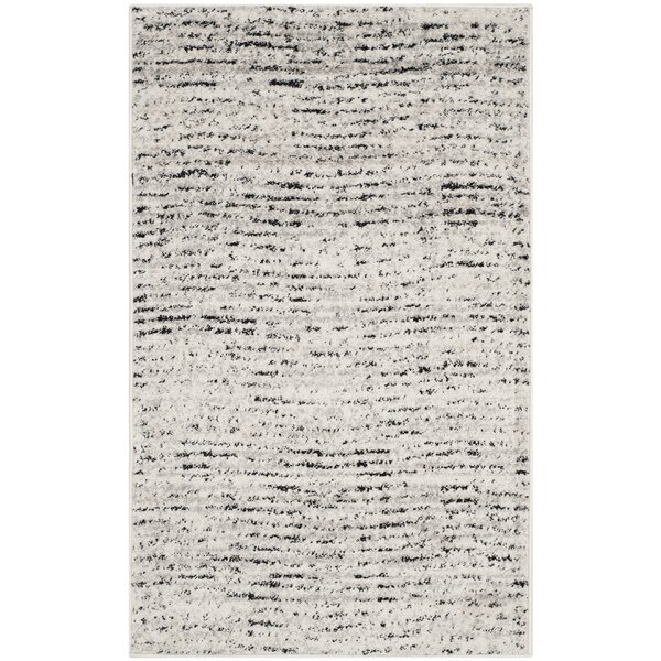 Costa Mesa Ivory/Silver Area Rug by Trent Austin Design