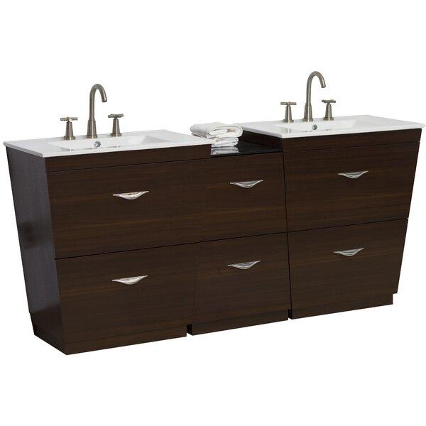 68 Double Bathroom Vanity Set by American Imaginations