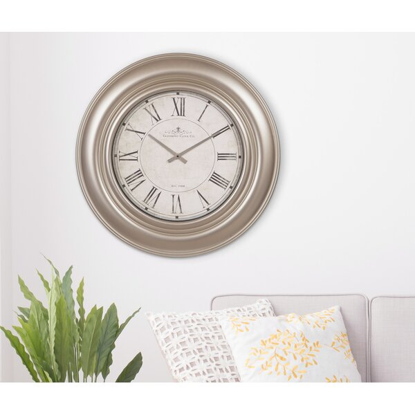 Oversized Glenmont Roman Numeral 30 Wall Clock by Nielsen Bainbridge