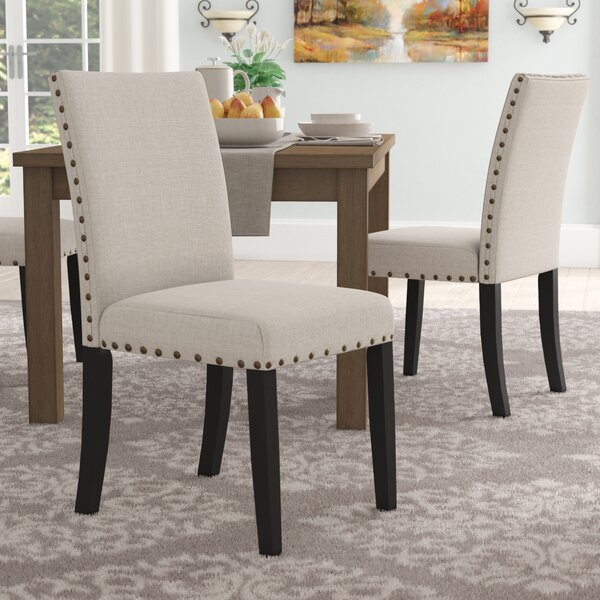 Ashby Upholstered Dining Chair (Set of 2) by Alcott Hill