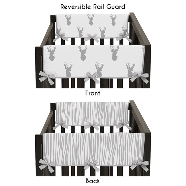 Stag Crib Side Rail Guard Cover (Set of 2) by Sweet Jojo Designs