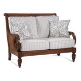 Grand View 50'' Round Arm Loveseat by Braxton Culler