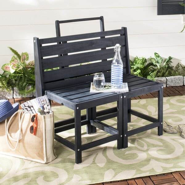 Overstreet Wooden Convertible Bench by Winston Porter