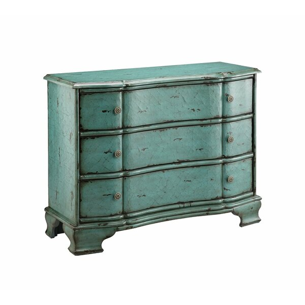 Jordyn 3 Drawers Accent Chest By One Allium Way