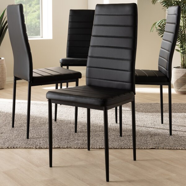 Hary Upholstered Dining Chair (Set of 4) by Orren Ellis