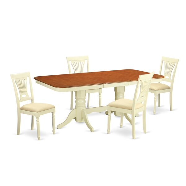 Gillham 5 Piece Dining Set by Astoria Grand Astoria Grand