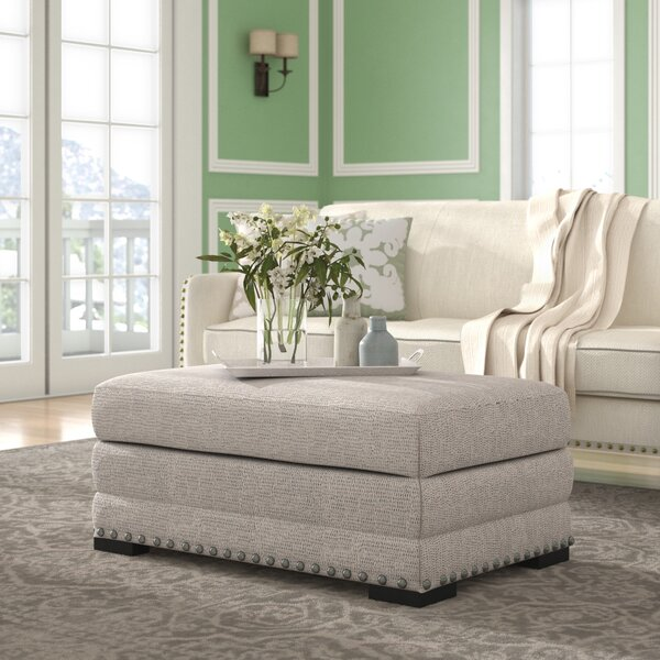 Swanigan Storage Ottoman by Three Posts