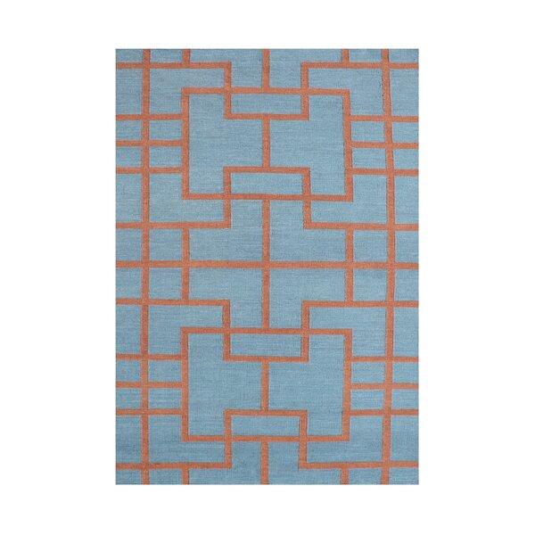 Anjali  Hand-Tufted Smoke Blue Area Rug by Wildon Home ®