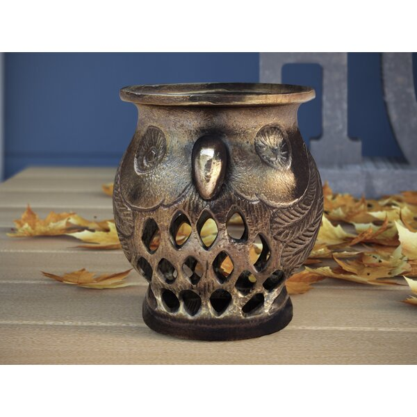 Owl Tealight Votive by Three Posts