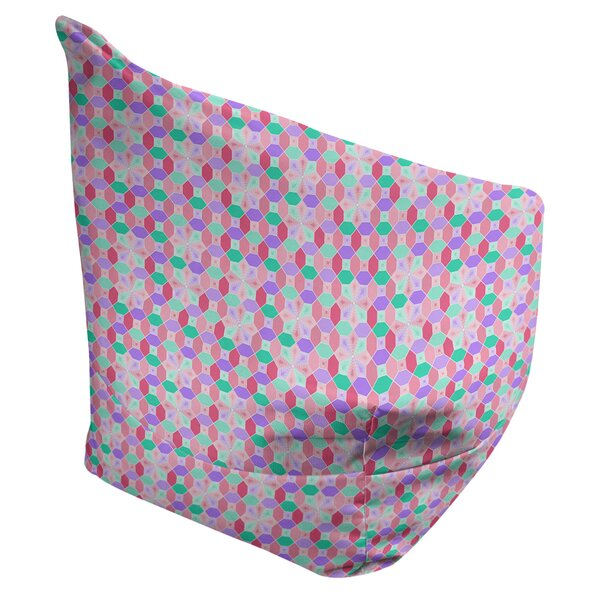 Leffel Stained Glass Bean Bag Cover By Ebern Designs