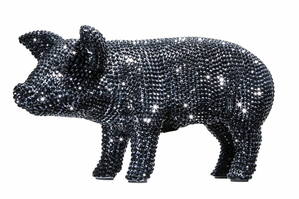 Interior illusions rhinestone piggy bank reviews wayfair - Rhinestone piggy bank ...