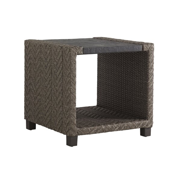Wicker Square Side Table by Tommy Bahama Outdoor