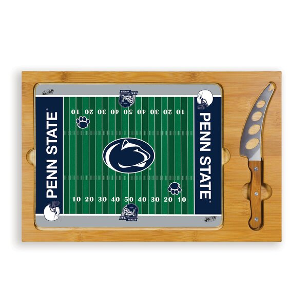 NCAA Football Icon Cutting Cheese Tray by TOSCANA™
