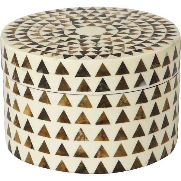 Triangle Stripe Box By Dwellstudio.