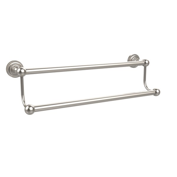 Dottingham Double Wall Mounted Towel Bar by Allied Brass