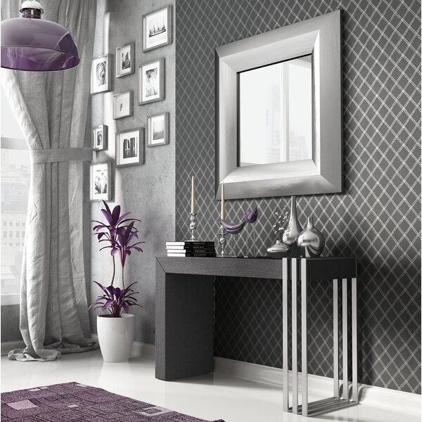Discount Pelley Console Table And Mirror Set