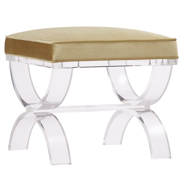 Jefferies Plastic Bench by House of Hampton