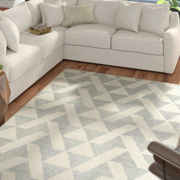 Hooper Hand-Tufted Gray Area Rug by Mercury Row