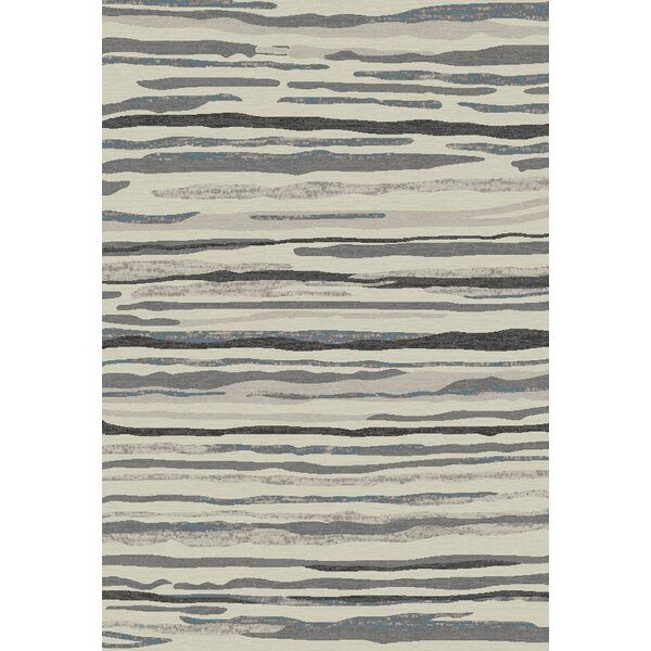 Stratford Waterfall Gray Area Rug by Mayberry Rug