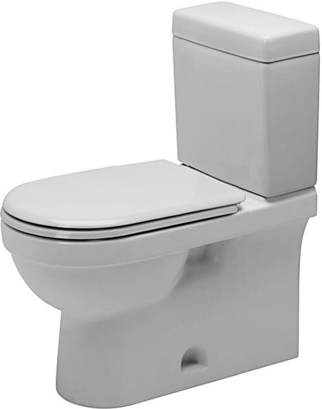 Happy D. 1.28 GPF Elongated Toilet Bowl by Duravit