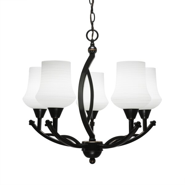 Eisenhauer 5-Light Shaded Classic / Traditional Chandelier by Red Barrel Studio Red Barrel Studio