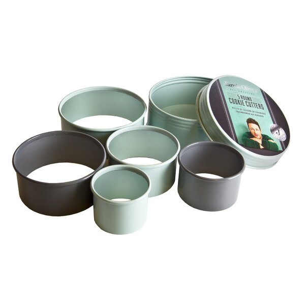 Nesting 5 Piece Cookie Cutting Set by Jamie Oliver