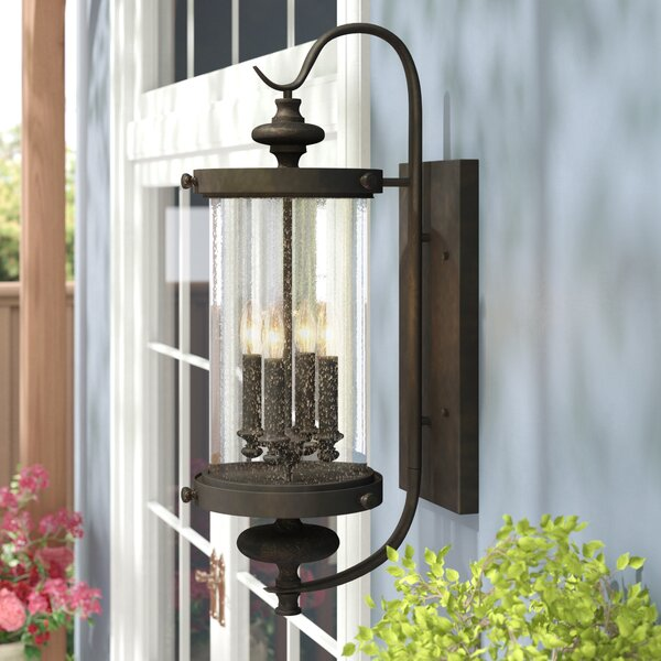 Blythewood 4-Light Outdoor Wall Lantern by Three Posts
