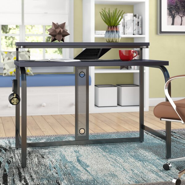 Greely Gaming Desk with Hutch