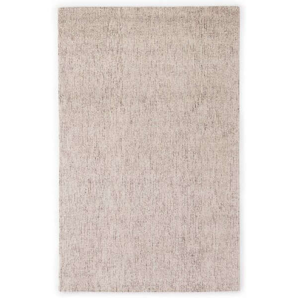California Bay Hand-Woven Wool Ivory/Gray Area Rug by Gracie Oaks