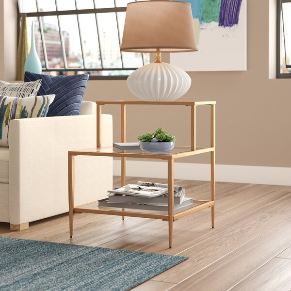 Summit End Table by Brayden Studio