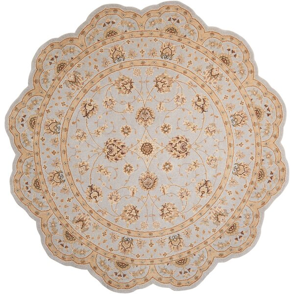 Lundeen Ivory/Light Blue Area Rug by Astoria Grand