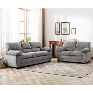 Polk 2 Piece Living Room Set by Wade Logan®