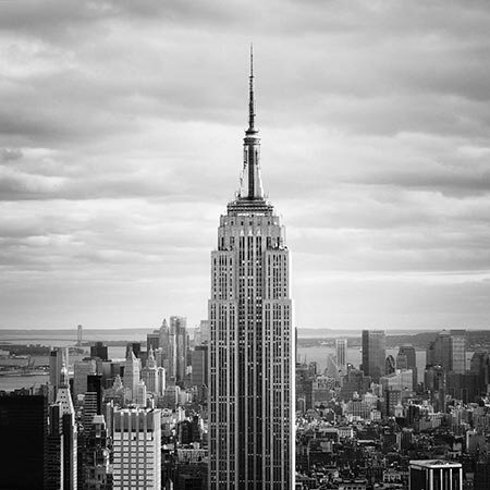 New York City Empire by Nina Papiorek Photographic Print on Canvas by iCanvas