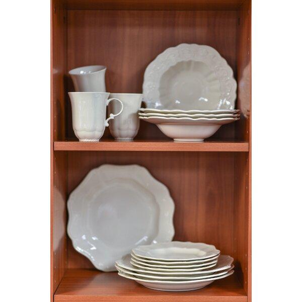 Country Estate 16 Piece Dinnerware Set, Service fo