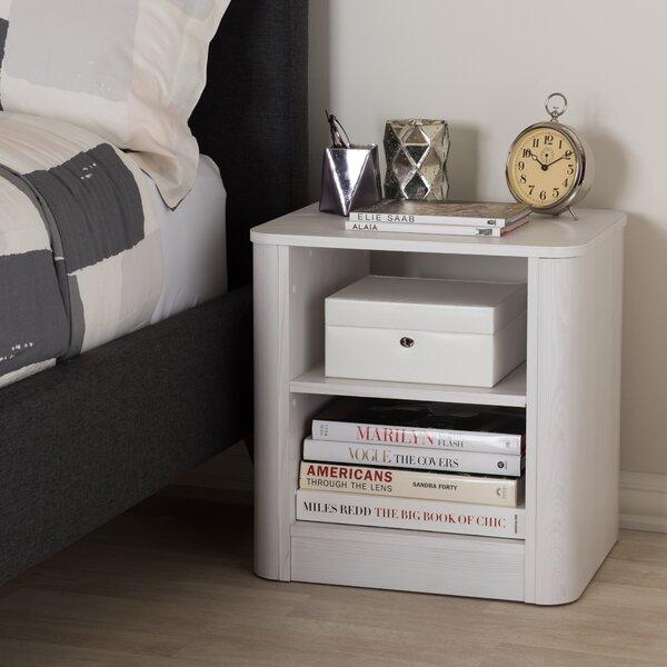 Polito Wood 2-Shelf Nightstand by Latitude Run