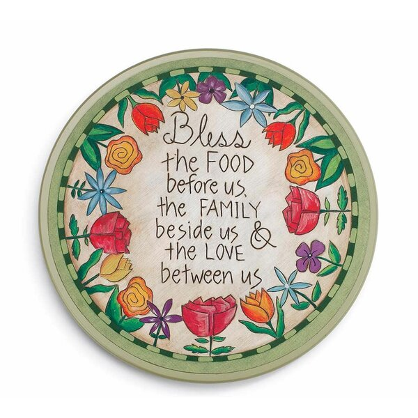 Table Prayer Lazy Susan by Wind & Weather