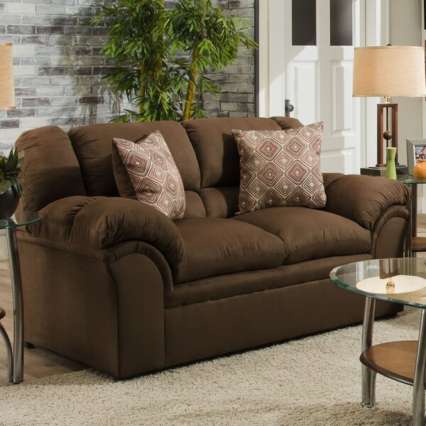 Fine Brand Simmons Upholstery Beasley Loveseat by Alcott Hill by Alcott Hill