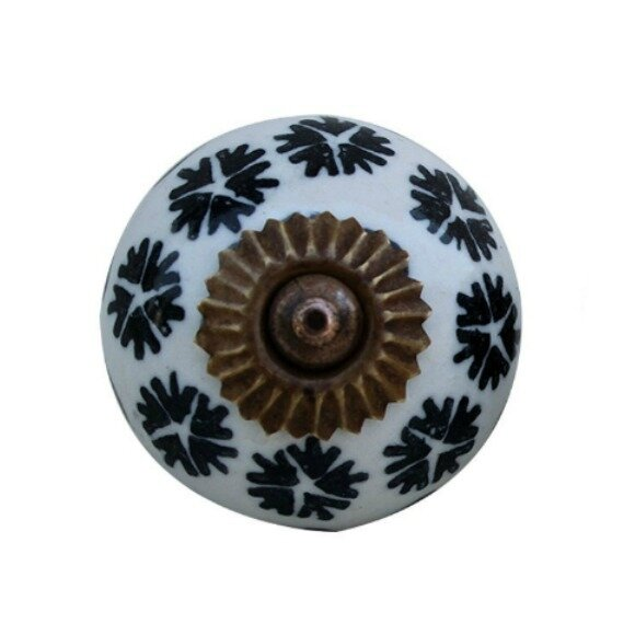 Ceramic Cabinet Round Knob by MarktSq