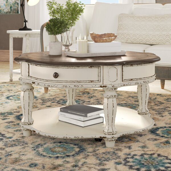 Tavant Wheel Coffee Table With Storage By One Allium Way