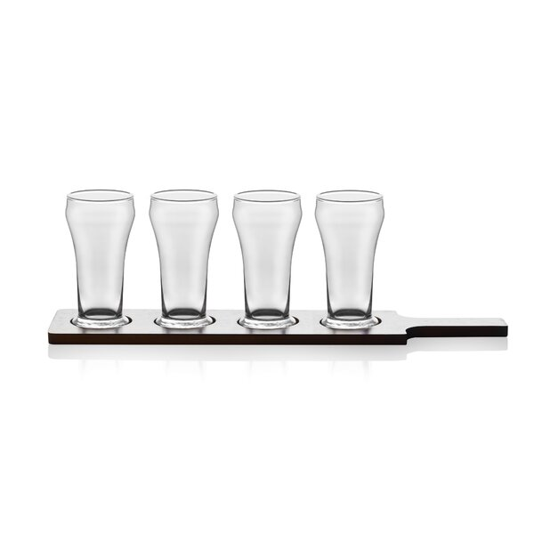Craft Brews 5-Piece 6 oz. Glass Beer Glass Set by
