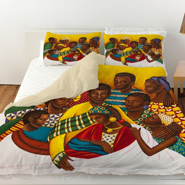 Family Photo Duvet Cover by Manual Woodworkers & Weavers