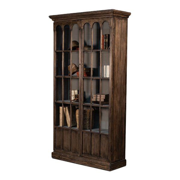 Wilkerson Arches Tall Standard Bookcase by Canora Grey